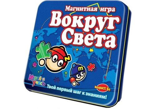 Магнитная игра MACK&ZACK LP-WORLD Вокруг света