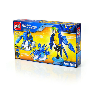 Конструктор ENLIGHTEN BRICK серия 3 в 1 Космопопугай 220дет.